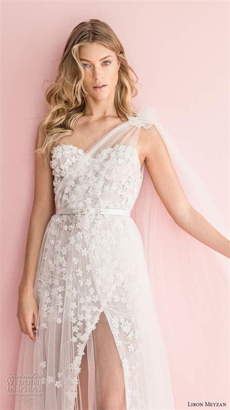 Dominiq Dress White Zv liron meyzan 2018 wedding dresses in white bridal collection wedding inspirasi