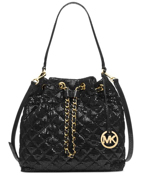 Michael Kors Quilted Handbags by Michael Kors Michael Frankie Quilted Large Convertible