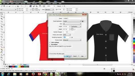 cara design label baju cara design baju kemeja dengan mudah youtube
