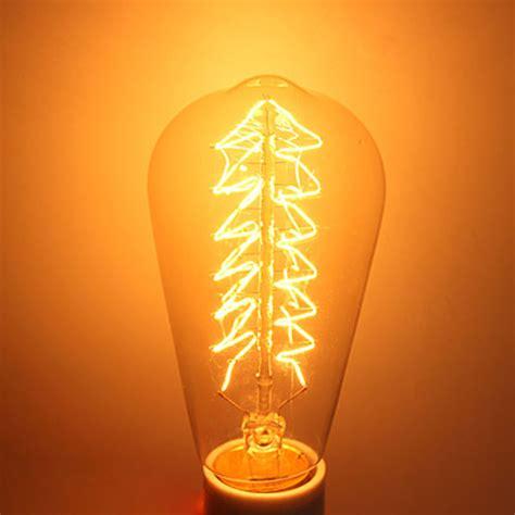 Incandescent Bulb E27 40w St64 Edison Vintage Christmas Incandescent Tree Lights