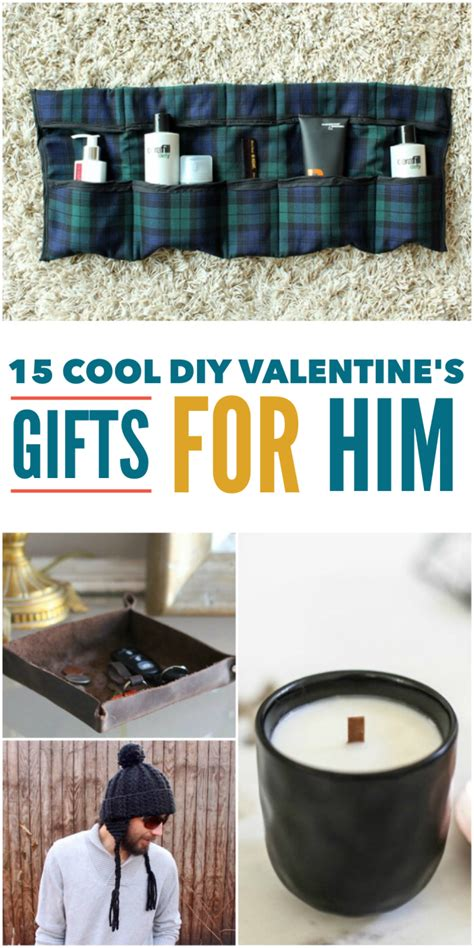diy valentine gifts for him 15 cool diy valentine s day gifts for him