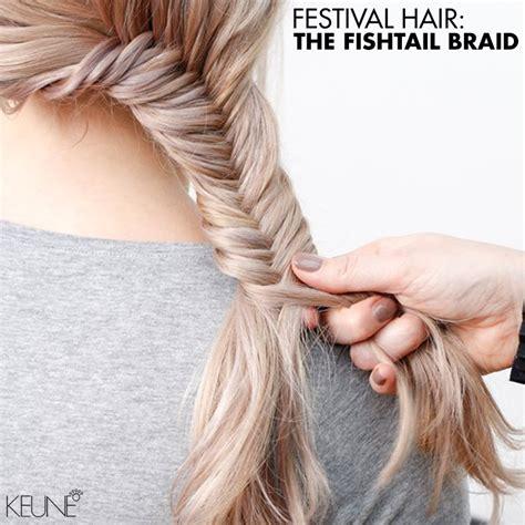 fishtail braid hair gallery festival hair the fishtail braid bangstyle