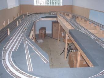 Baseboard Sizes model railway layout ballasting service