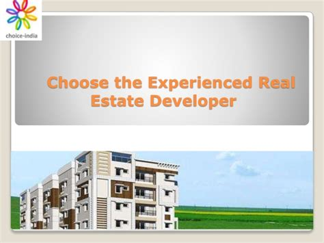 What Does Mba In Real Estate Developemnt by Choose The Experienced Real Estate Developer