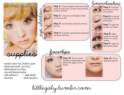 tutorial makeup ultima 2 1000 images about lolita makeup on pinterest doll