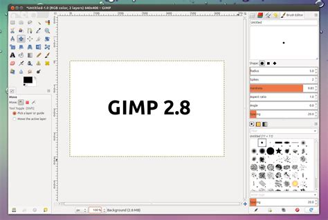 tutorial the gimp 2 8 how to install brushes in gimp newhairstylesformen2014 com