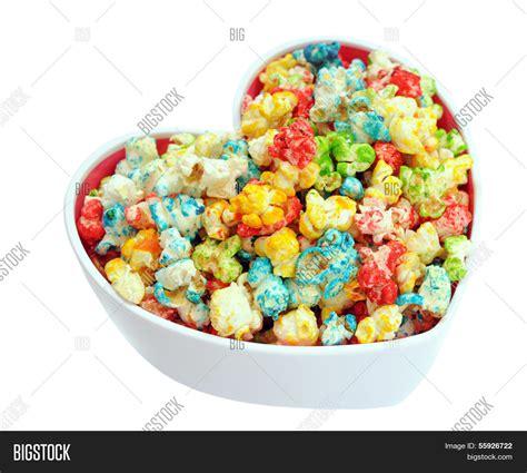 colorful popcorn colorful popcorn image photo free trial bigstock