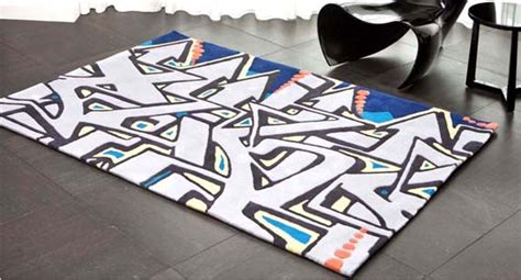 Graffiti Rug by Adrienne Chinn S Cover Magazine Carpets