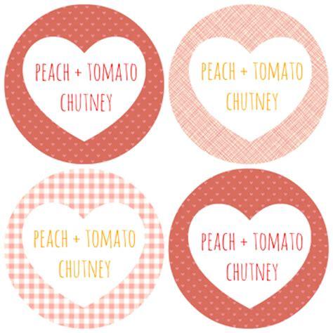 chutney label templates tomato chutney includes free printable labels