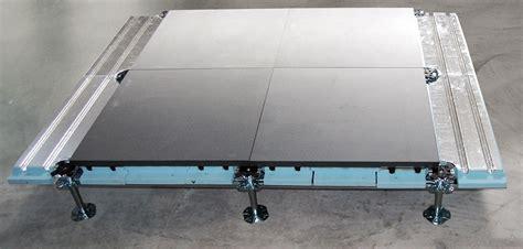 pavimento tecnico sopraelevato pavimento radiante diffuse by nesite