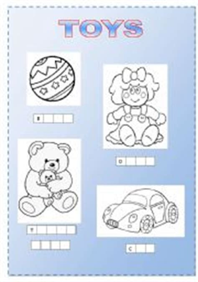 toys worksheet kindergarten toys best free printable