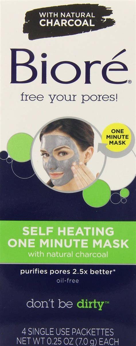 Biore Charcoal Mask Self Heating One Minute Mask biore charcoal self heating one minute mask reviews photo