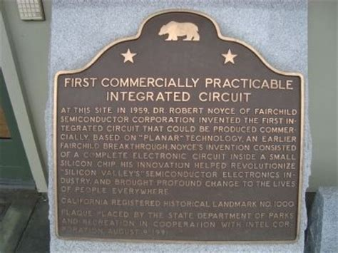 commercially practicable integrated circuit historical marker