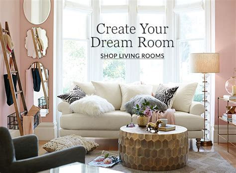 pottery barn design living room inspiration pottery barn