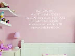 nursery rhymes wall stickers nursery rhyme wall stickers interior design ideas