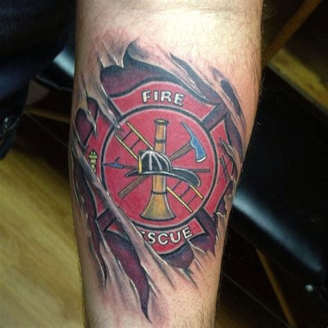 maltese cross tattoos firefighter designs pictures to pin on