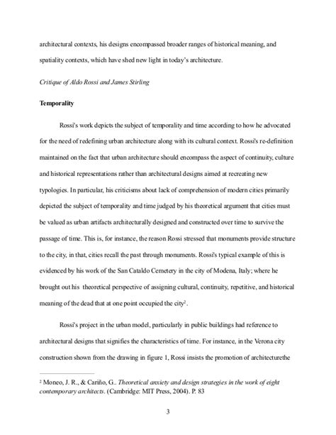 Architecture Essay by Architecture Essay Exle