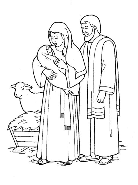 lds coloring pages jesus birth jesus came to earth nativity