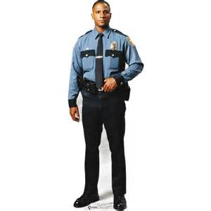 Table Tennis Blades Advanced Graphics Policeman Cardboard Stand Up 31