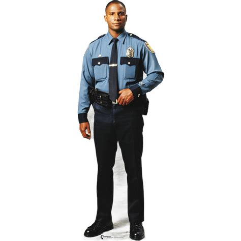 Review Of Kitchen Faucets by Advanced Graphics Policeman Cardboard Stand Up 31