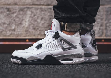 Air 4 Retro Og White Cement Legit Us 8 where to buy 4 white cement 2016 restock sneakernews