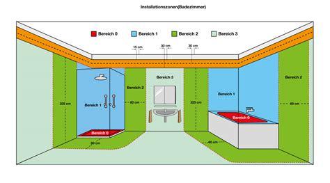 installationszonen nach din 18015 3 elektroinstallation planen ratgeber tips f 252 rs badezimmer