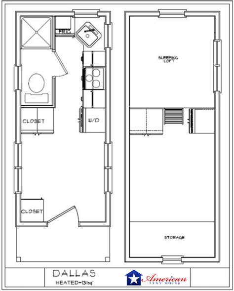 tiny house floor plans tiny house plans on wheels american tiny house