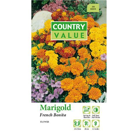 country value marigold bonita flower seeds ebay