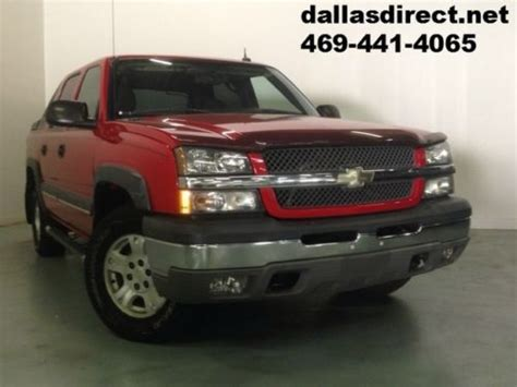 buy used 2004 chevrolet warranty cool color in