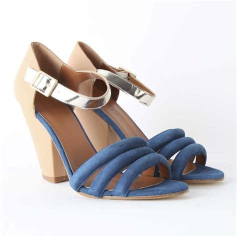 Hdf Sandal Notes Col Blue go mae suede sandal collen clare