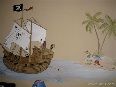pirate wall murals pirate theme wall murals by colette pirate wall murals