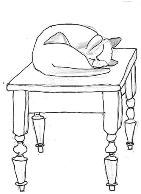 cat on chair drawing cat the chair clipart www imgkid the image
