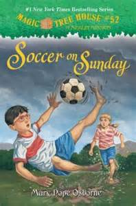 Magic Treehouse Tv Show - soccer on sunday magic tree house series 52 by mary pope osborne 9780307980533 hardcover