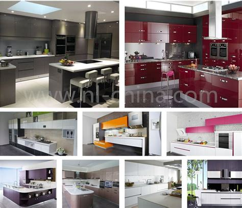imported kitchen cabinets from china red color painted kitchen cabinets kc 1130 imported