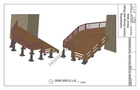 Patio Design Plans Free Free Deck Plans And Blueprints With Pdf Downloads
