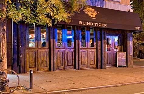 blind tiger ale house blind tiger ale house on bleeker st in nyc s greensich village