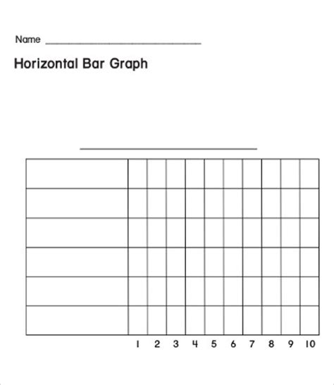 blank bar graph template bar graph templates 9 free pdf templates downlaod