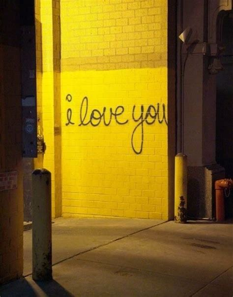 love  yellow aesthetic graffiti yellow