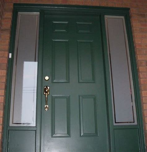 Door Sidelight Glass Sidelight Privacy Using Window With Bevelled Glass