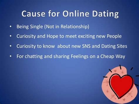 online dating dating presentation