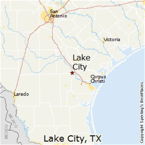 map lake texas best places to live in lake city texas