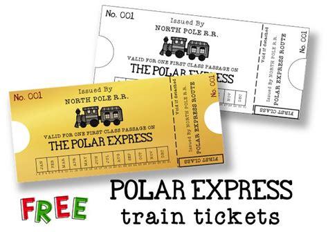 printable polar express tickets kindergarten 1000 ideas about train crafts preschool on pinterest