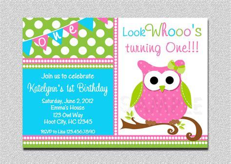 printable birthday cards owl owl birthday invitation owl birthday party invitation