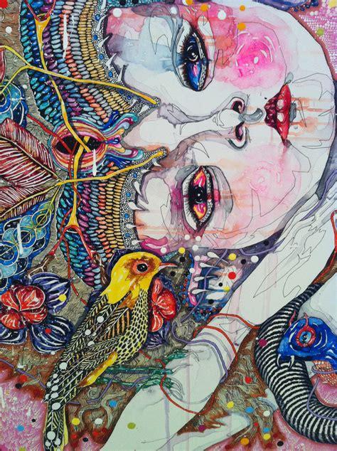 Del Kathryn Barton Artwork insprired by del kathryn barton that creative feeling