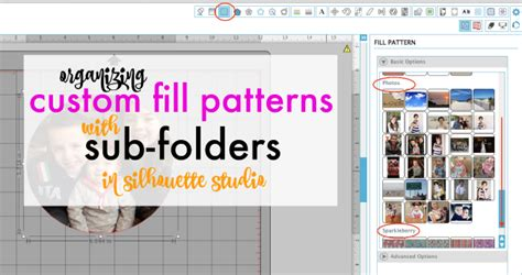 how to organize your silhouette library organizing patterns into sub folders in the silhouette studio library silhouette school