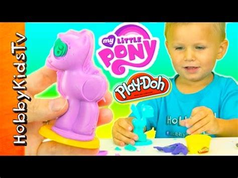 film mlp play doh my little pony play doh maker molds surprise shopkins