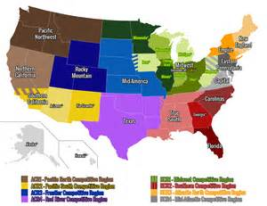 us map without florida usa club rugby geographical unions usa rugby