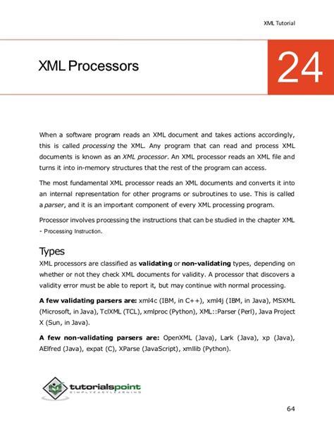 xml tutorial slides xml tutorial