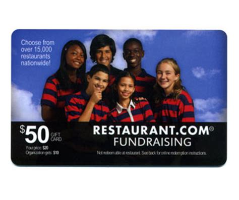 Restaurant Gift Card Fundraiser - non profit fundraisers learn how to raise the most money