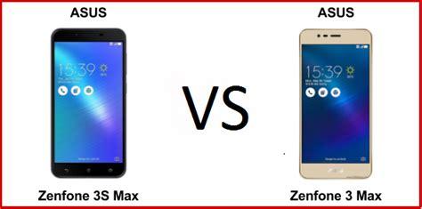Hp Asus Zenfone Max Di Indonesia perbandingan bagus mana hp asus zenfone 3 max vs asus zenfone 3s max segi harga kamera dan